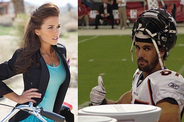 Eric Decker's Girlfriend Jessie James Jokes About 3rd Leg, Heals All Wounds