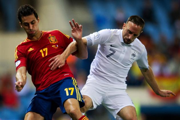 Spain 1-1 France: Late Giroud Equaliser Robs Spain