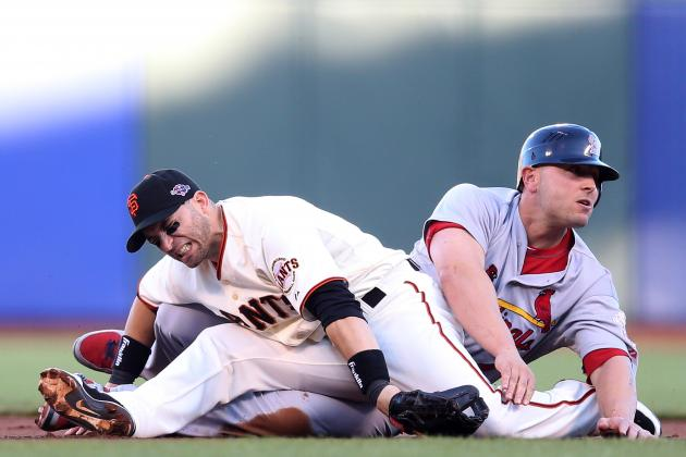 2012 NLCS: Will Game 2's 'Dirty Slide' Bad Blood Carry over into Game 3?