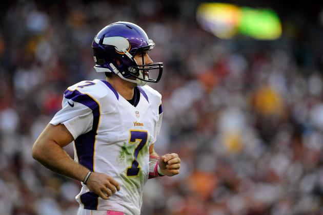 2012 NFL Week 7 Picks: Vikings over Cardinals