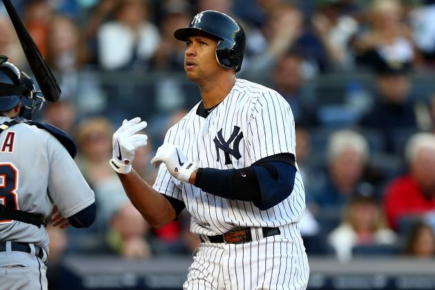 A-Rod out of Lineup for Game 3 of ALCS