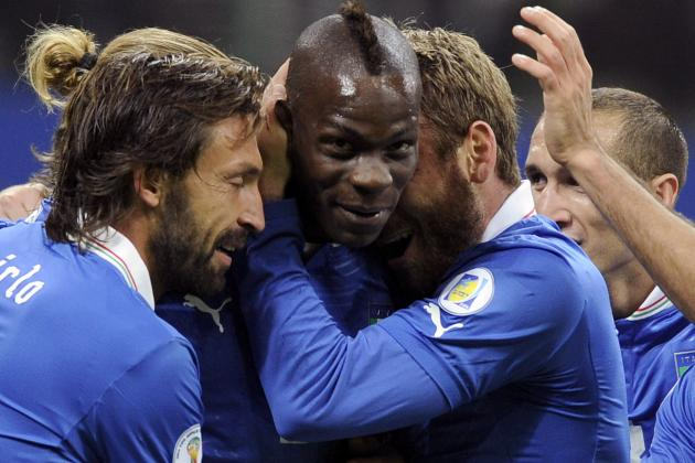 Italy vs. Denmark: Mario Balotelli's Goal Is Great Sign for Italy