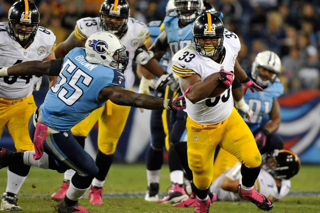Isaac Redman: Steelers RB Carries No Fantasy Value, Even If Healthy