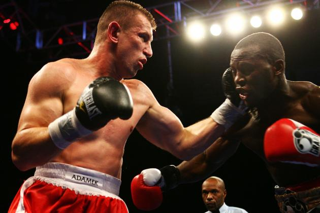 Adamek vs. Cunningham II Is Set for December 22nd