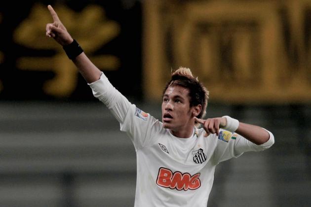 Neymar Celebrates Santos Centennial Dancing Call Me Maybe
