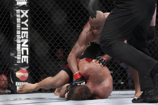 Silva vs Bonnar: Where Does It Rank Among Silva's First Round UFC Victories?