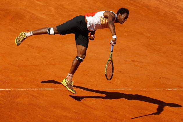 Defending Champ Monfils Ousted at Stockholm