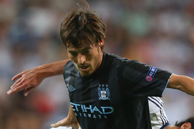 Injury Worry for Man City as Silva Limps out of Spain World Cup Qualifier