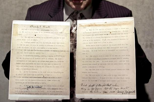 James Naismith's Original Basketball Rules: Complete Review of '30 for 30'