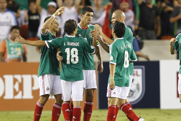 Mexico vs. El Salvador: Score, Highlights and Grades