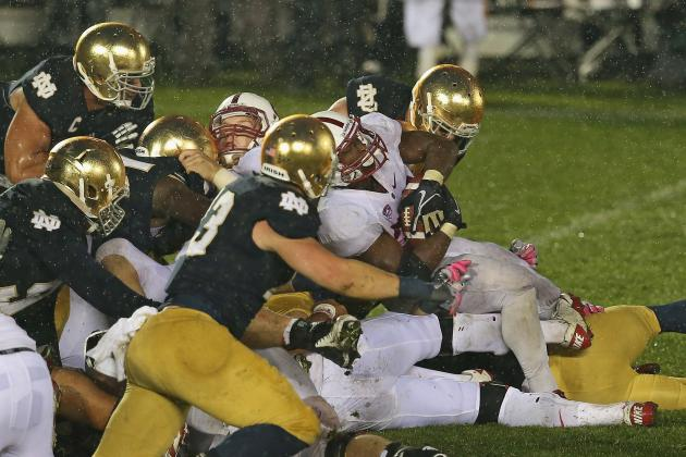 Notre Dame: NCAA Says Correct Call Made Ending Irish-Stanford Game