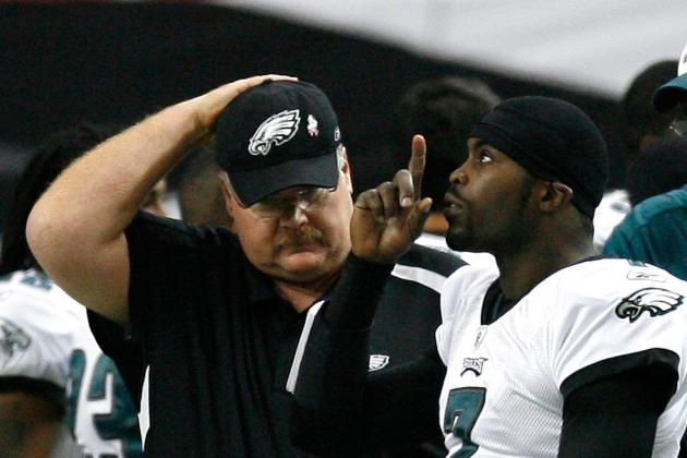 Andy Reid Scapegoats Juan Castillo, Should Be Looking in the Mirror and at Vick