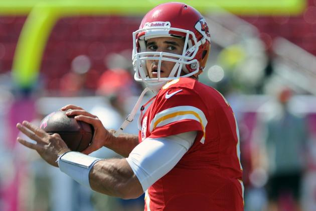 Crennel: Cassel, Quinn Competing for QB Job