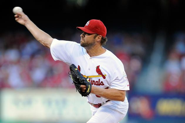 """Jake Westbrook """"Ready to Go"""" in Case Cardinals Need Him"""