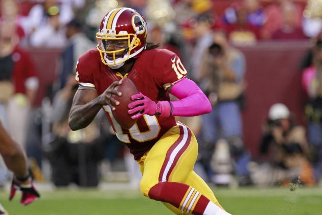 Antrel Rolle: RG3 a 'Different' QB Than Vick