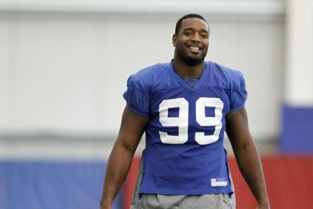 Giants' Chris Canty Will Return to Practice This Week