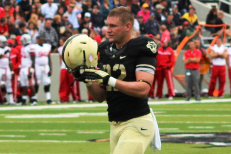 Nate Combs: Army Football Captain out with Shoulder Injury