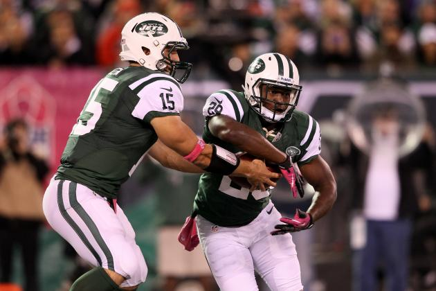 Sources: RB Bilal Powell Will Miss Patriots' Game with Shoulder Injury
