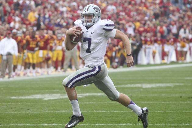 An Inside Look at the 3 Plays Collin Klein Runs at a Heisman Level