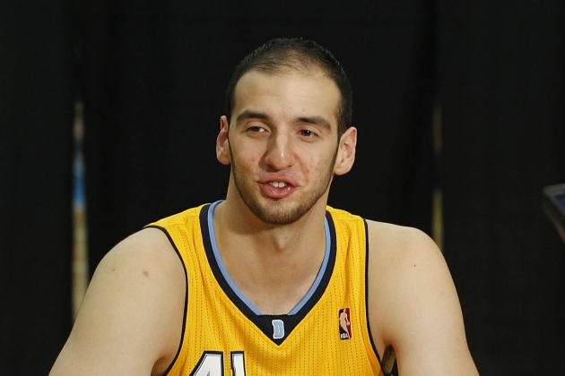 Denver Nuggets C Kosta Koufos playing well