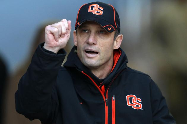 Time to Start Thinking About Mike Riley as College Football Coach of the Year