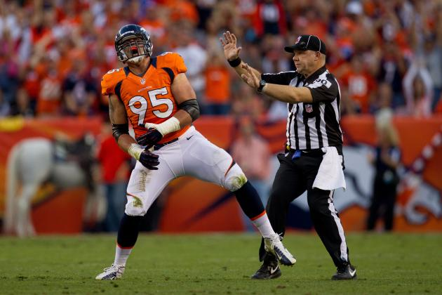 Derek Wolfe Thinks the Real Broncos Showed Up on Monday