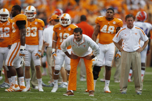 Jim Chaney: Fumbles Are Vols' Biggest Worry Against Alabama