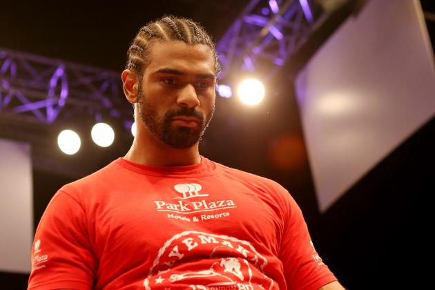Haye Squawking About a Contract with Vitali Already Being Agreed Upon