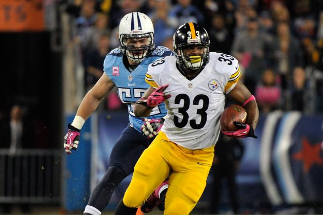 Isaac Redman: Pittsburgh Steelers RB Does Not Deserve Fantasy Roster Spot