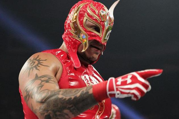 wwe news rey mysterio pulled from upcoming tour dates bleacher report. Black Bedroom Furniture Sets. Home Design Ideas