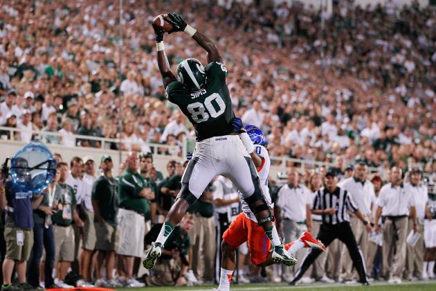 Sims Not on Depth Chart for MSU; Dantonio Says He's Questionable