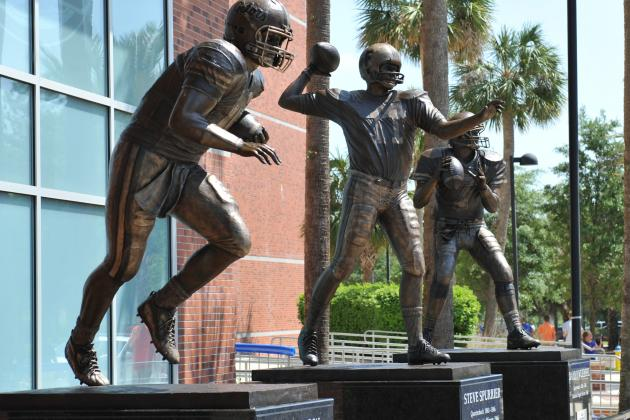 Gators Respect Florida Legend