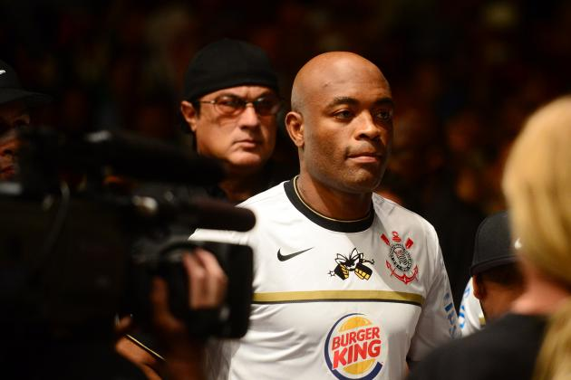 Anderson Silva on Weidman: 'I Don't Have Any Intention of Fighting with Him'