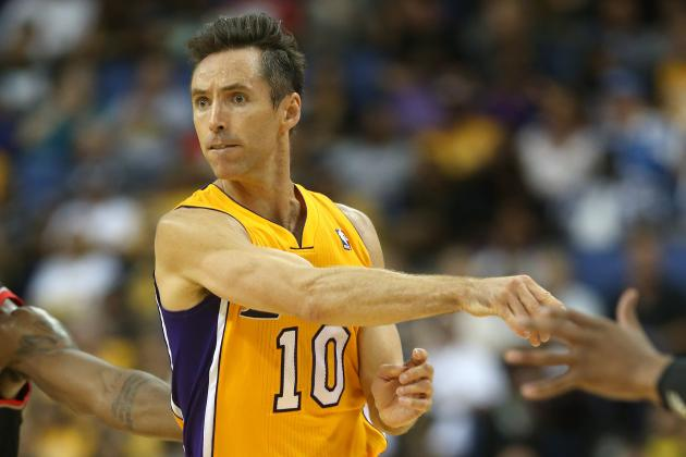 Steve Nash or Kevin Garnett: Which Aging Star Will Fall off First?