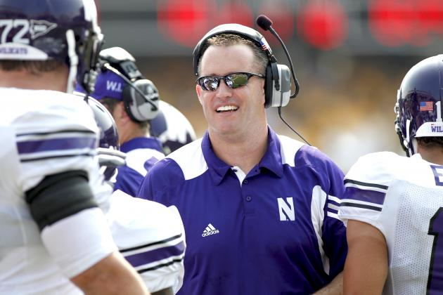 Northwestern Football: Pat Fitzgerald Demands That His Players Take a Cat Nap