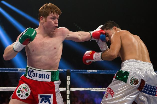 Canelo Alvarez Tells Golden Boy, Get Me Sergio Martinez in May