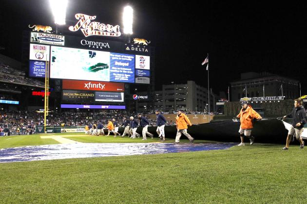 ALCS 2012: Breaking Down How Game 4 Postponement Helps, Hurts Tigers and Yankees