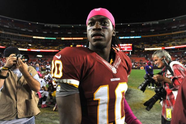 Robert Griffin III Saying and Doing the Right Things for Washington Redskins