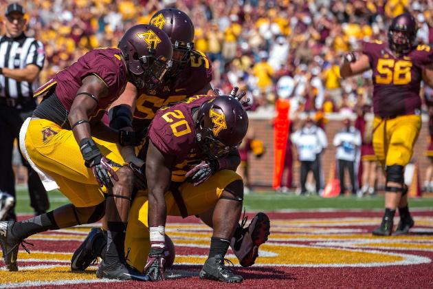 Gophers Try to Diagnose Fumble Problems
