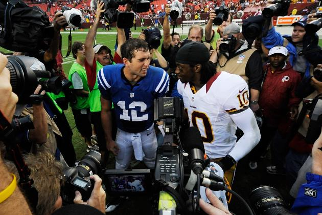 Is RGIII Ahead of Andrew Luck? and Other Must Reads from the AFC South
