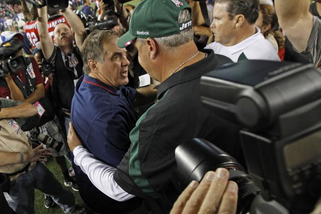 Rex Ryan Pumps Up the New England Patriots Defense, and Other AFC East News