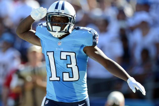 Kendall Wright and More Underrated Fantasy WR Sleepers for Week 7