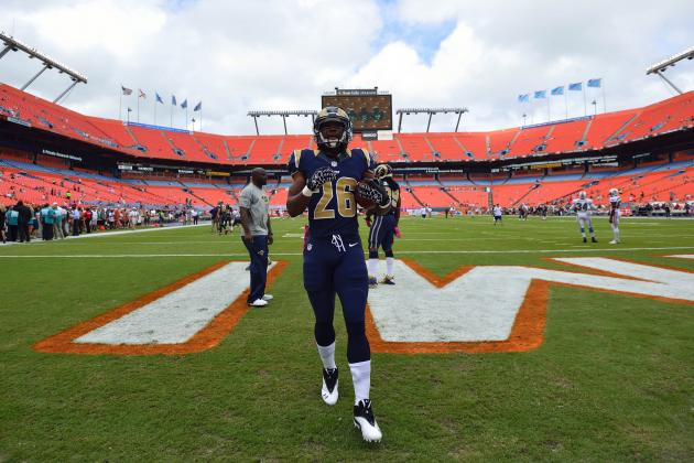 Daryl Richardson: Why Rams Rookie RB Will Replace Steven Jackson by Season's End