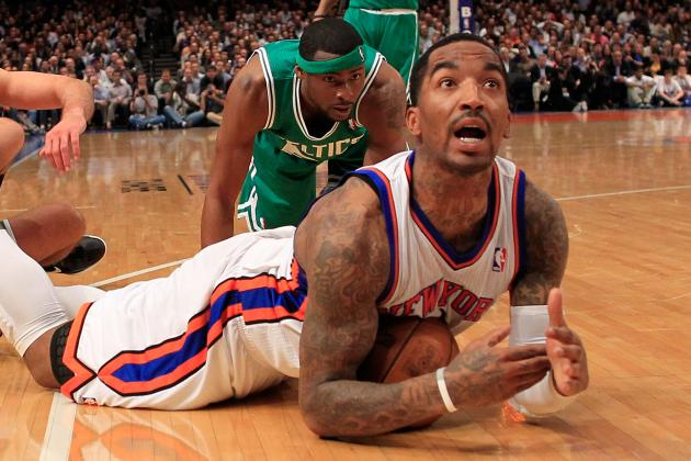 Knicks Playing It Cautious with J.R. Smith, Ronnie Brewer and Marcus Camby