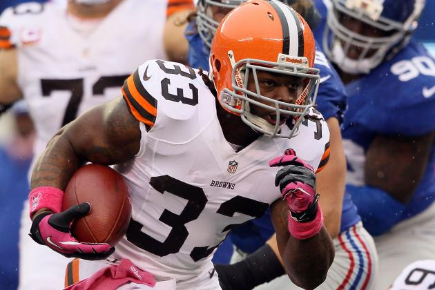 Browns Rookie Running Back Trent Richardson Will Wear Protective Padding