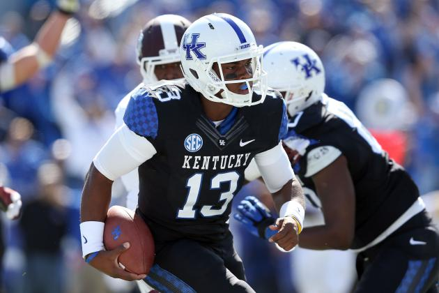 Kentucky Finds Patience Required with Freshman QB Whitlow
