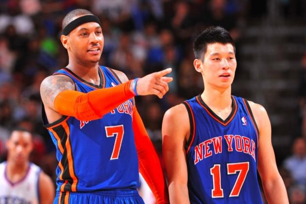Carmelo Anthony Reportedly Jealous of Linsanity, Ran Jeremy Lin Out of New York