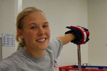 Molly Engstrom Continues Her CWHL Career with the Boston Blades