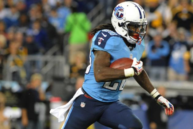 Chris Johnson: Fantasy Outlook for Titans RB in Week 7 vs. Bills