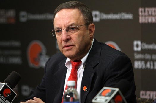 Browns CEO Joe Banner Brings Urgency to Position: 'We'll Go as Fast as We Can'